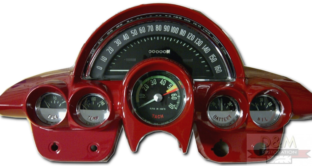 Classic Car Instrument Cluster Repair and Restoration