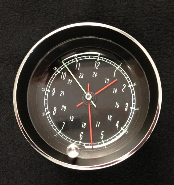 antique chevrolet clocks