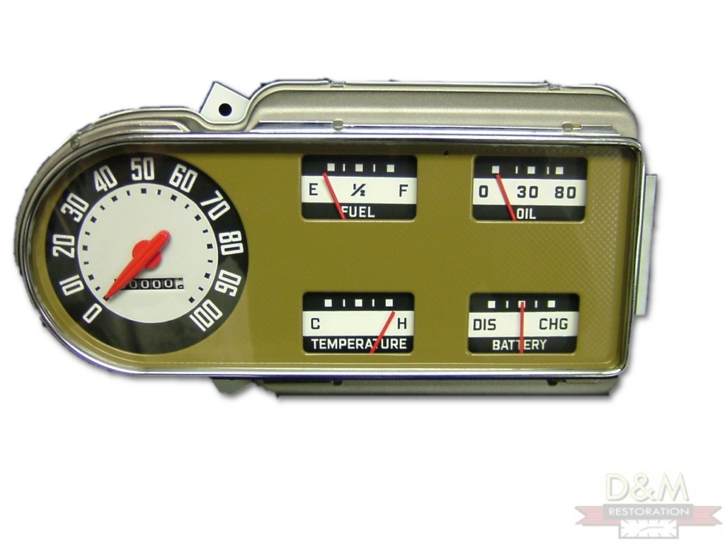 Classic Car Instrument Cluster Repair And Restoration 1954 Chevy Truck Gauge Clusters Chyslerinrumentpanelbefore Chrysler Panel