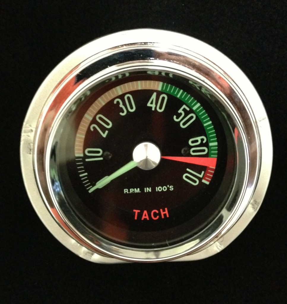 Tachometer Repair And Restoration 1968 Amx Wiring Diagram